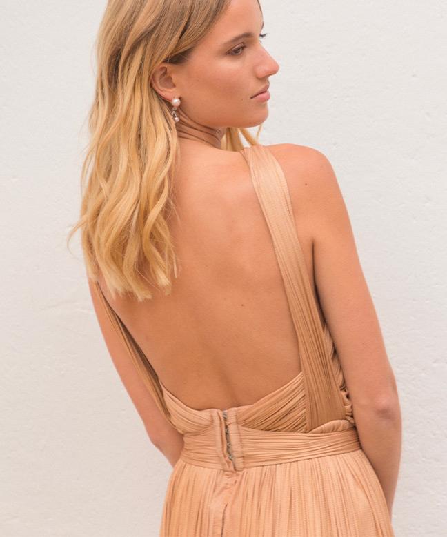 Location robe longue Maria Lucia Hohan Blossom Gown 3