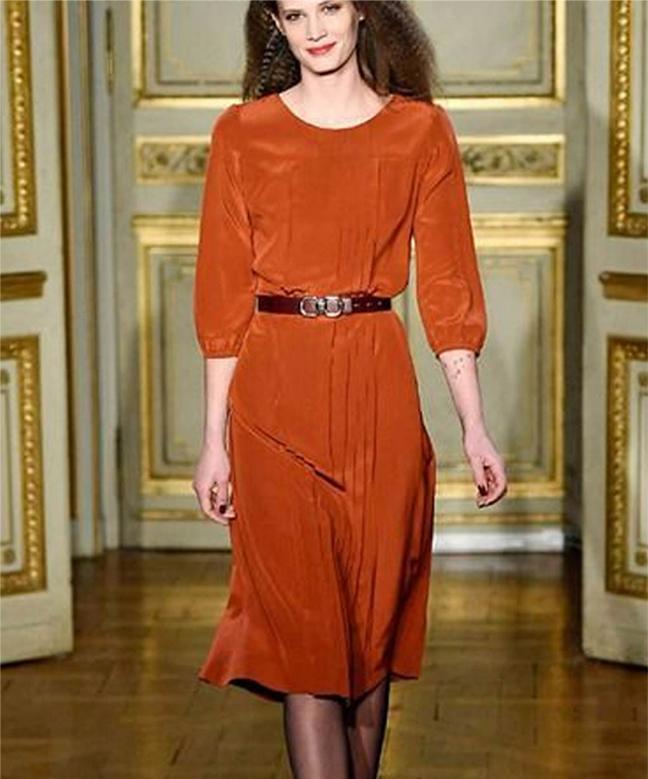 Location robe Vanessa Seward Asymétrique 2