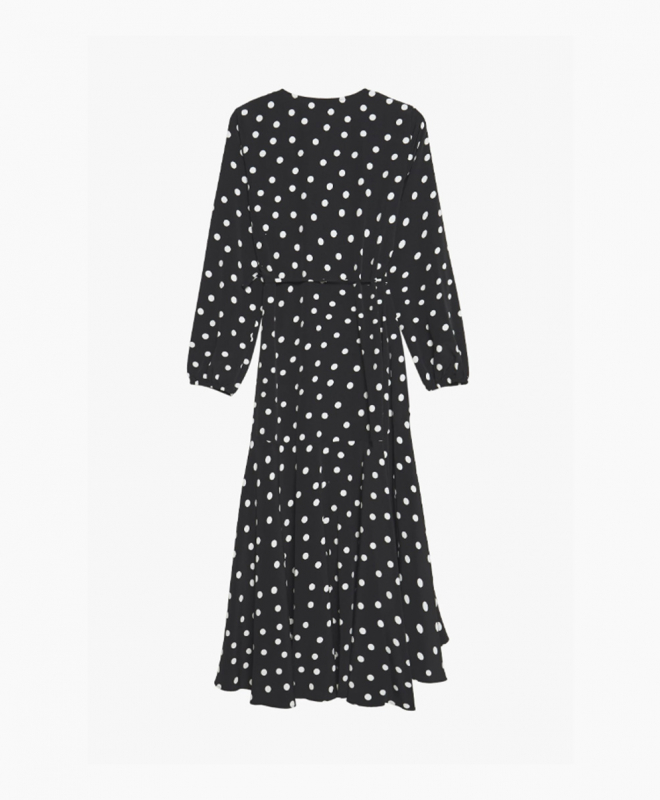 Location Robe Wallis Polka Dot Wrap 1