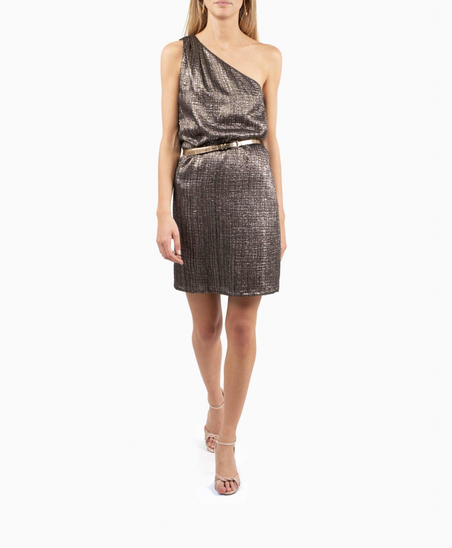 VANESSA SEWARD X APC dress rental One Shoulder. 3