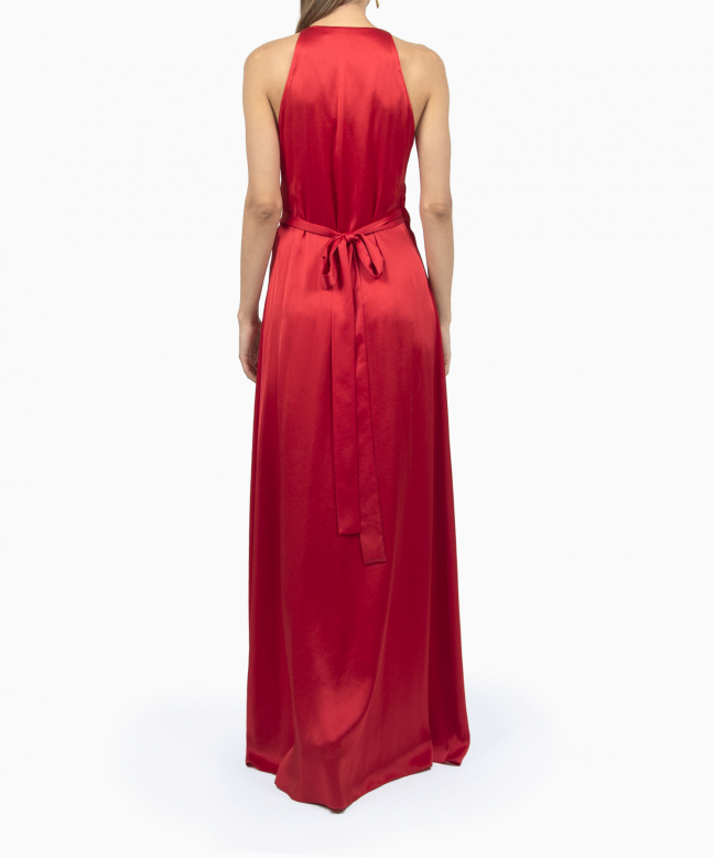 Location Robe Diane Von Furstenberg Paola Red 3