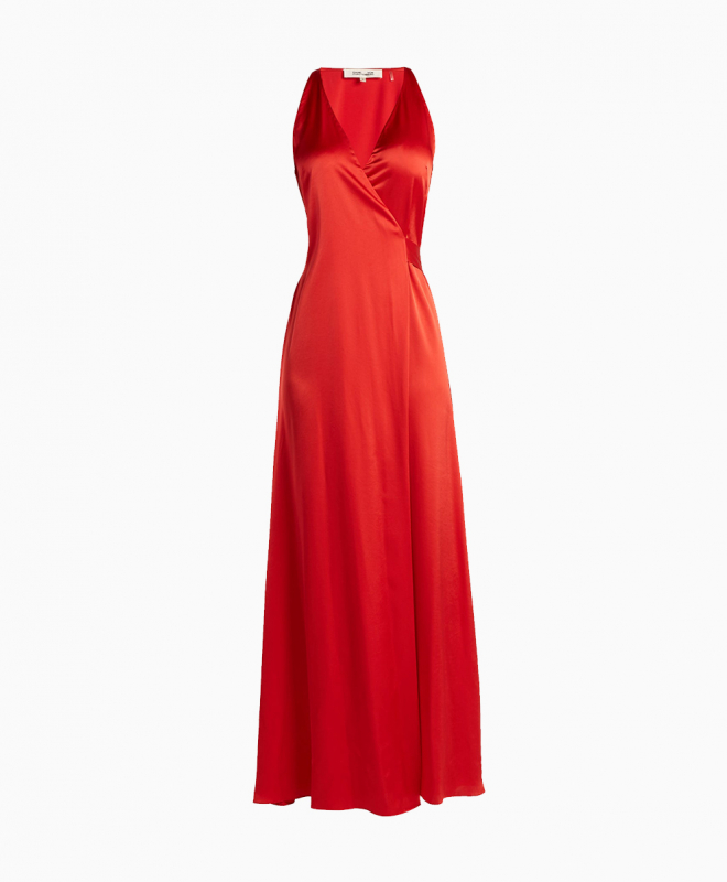 Location Robe Diane Von Furstenberg Paola Red 1
