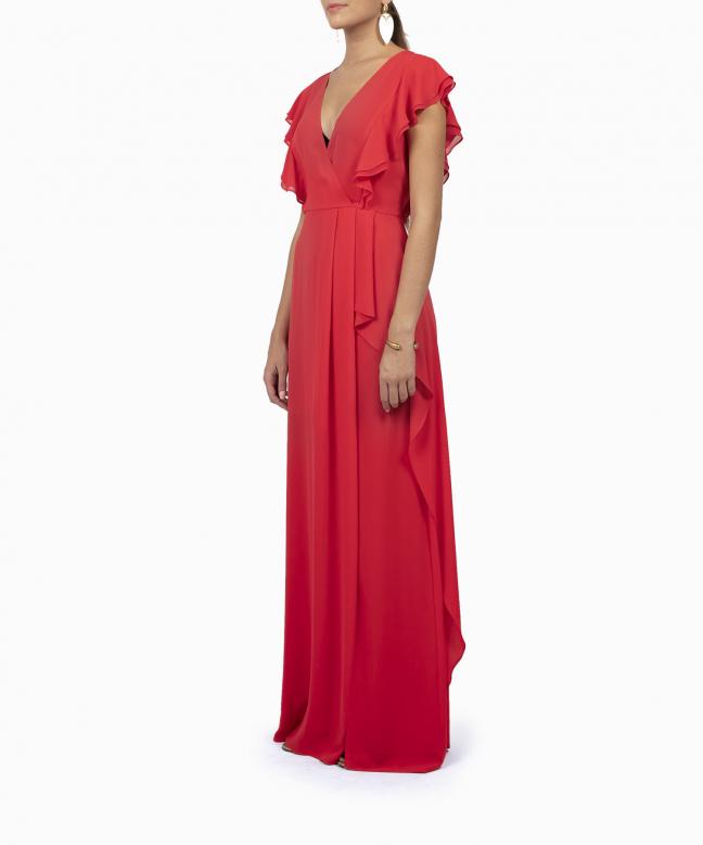BCBG long dress rental Marbelle. 4