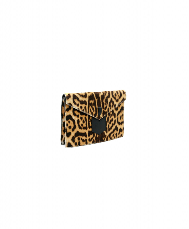 SAINT LAURENT purse rental Leopard. 2