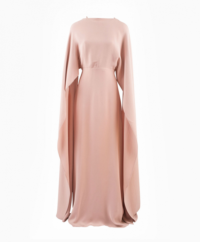 Location robe Valentino Pink Cape 1