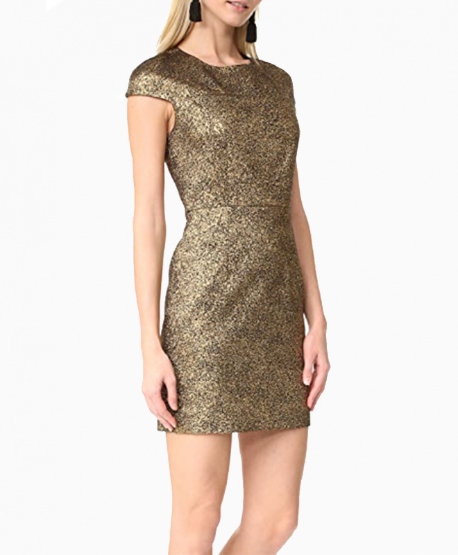 Location robe Diane Von Furstenberg Hadlie Gold 3