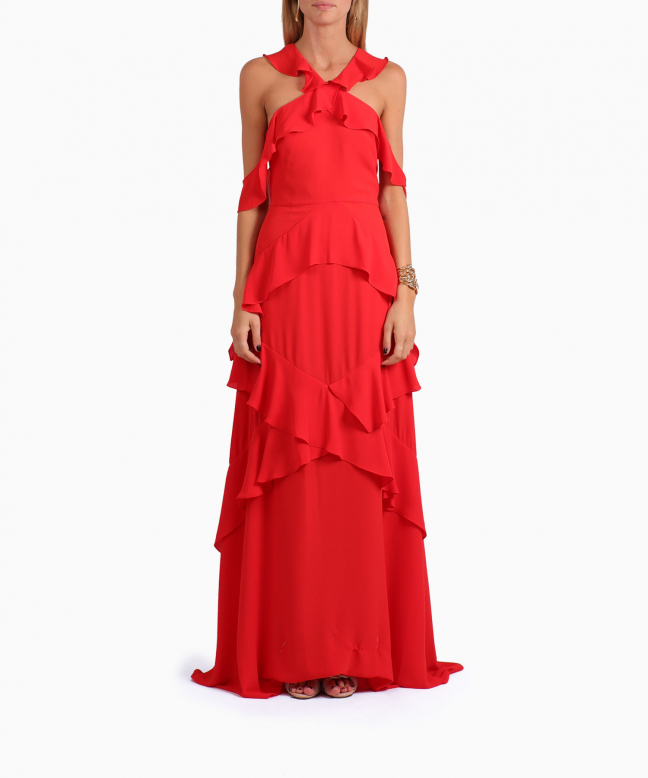 BCBG long dress rental Audrianna. 2