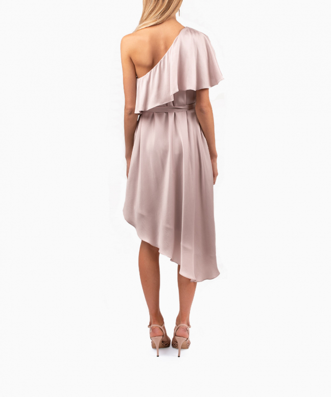 Location robe Zimmermann One Shoulder Rose 3