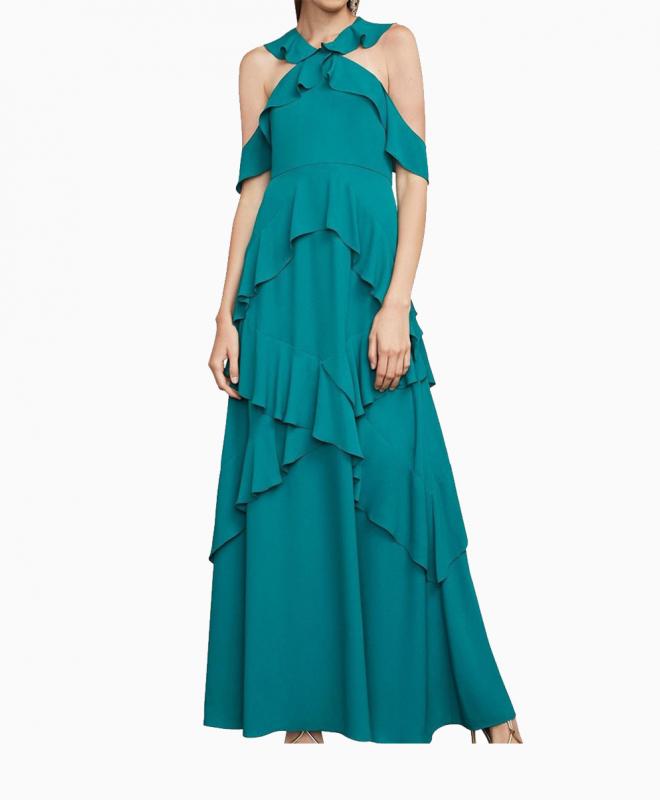 Location robe BCBG Audrianna Turquoise 2
