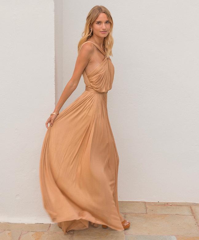 Location robe longue Maria Lucia Hohan Blossom Gown 4