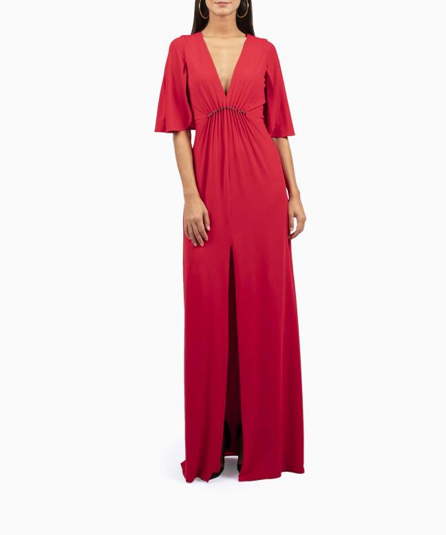 Location robe Halston Heritage Rouge 2