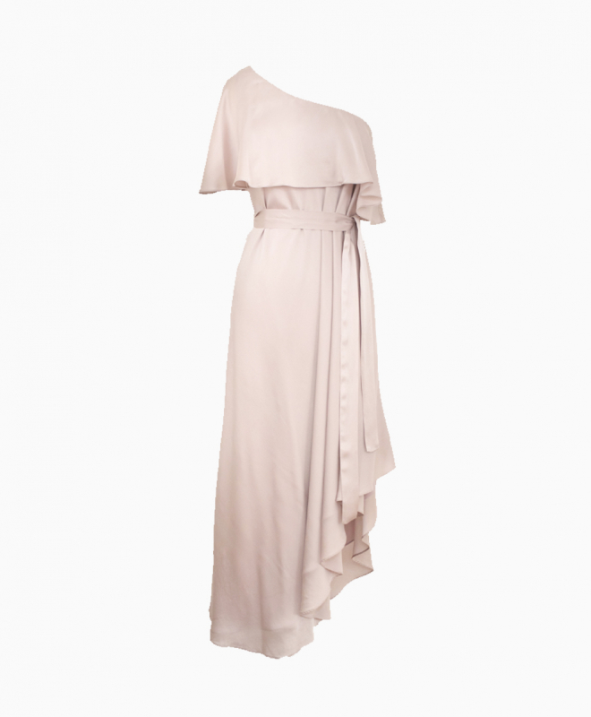 ZIMMERMANN dress rental Pink One Shoulder. 1