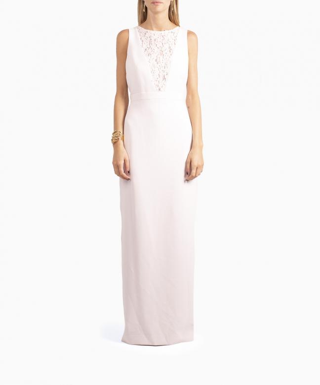 KARL LAGERFELD long dress rental Lace Plunge. 2