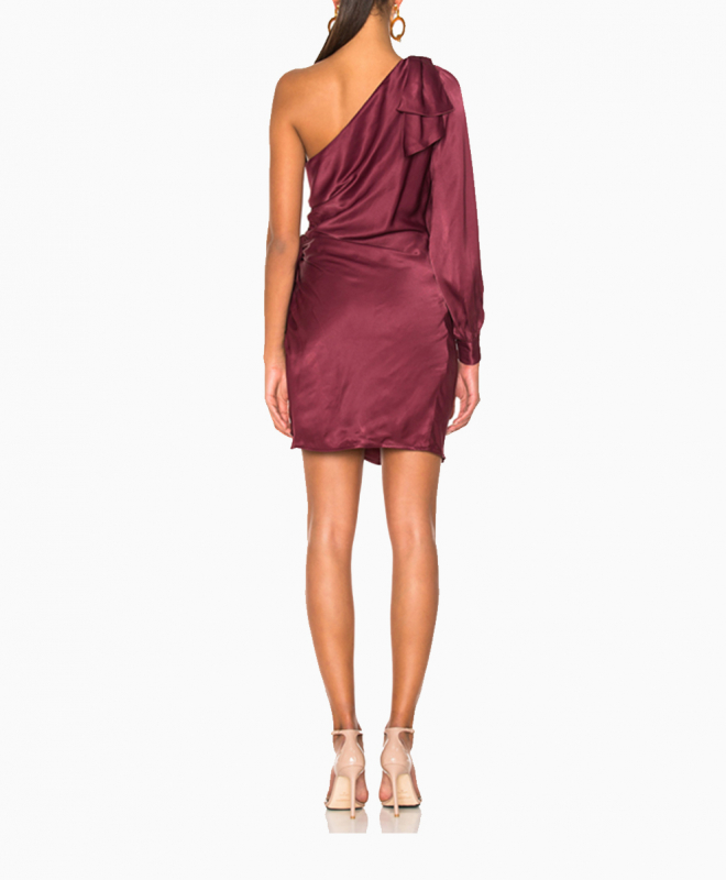 Location robe Zimmermann Maples Bow Burgundy 3