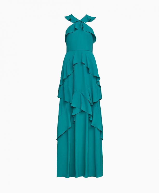 Location robe BCBG Audrianna Turquoise 1