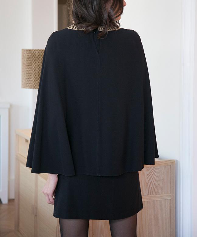 Location robe Vanessa Seward Antique Noire 3
