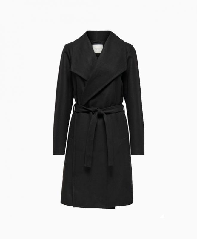 Location manteau croise noir JDY 1