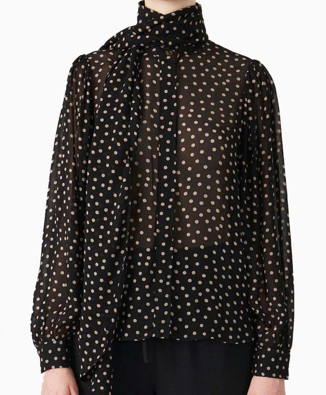 Location blouse Ganni 1