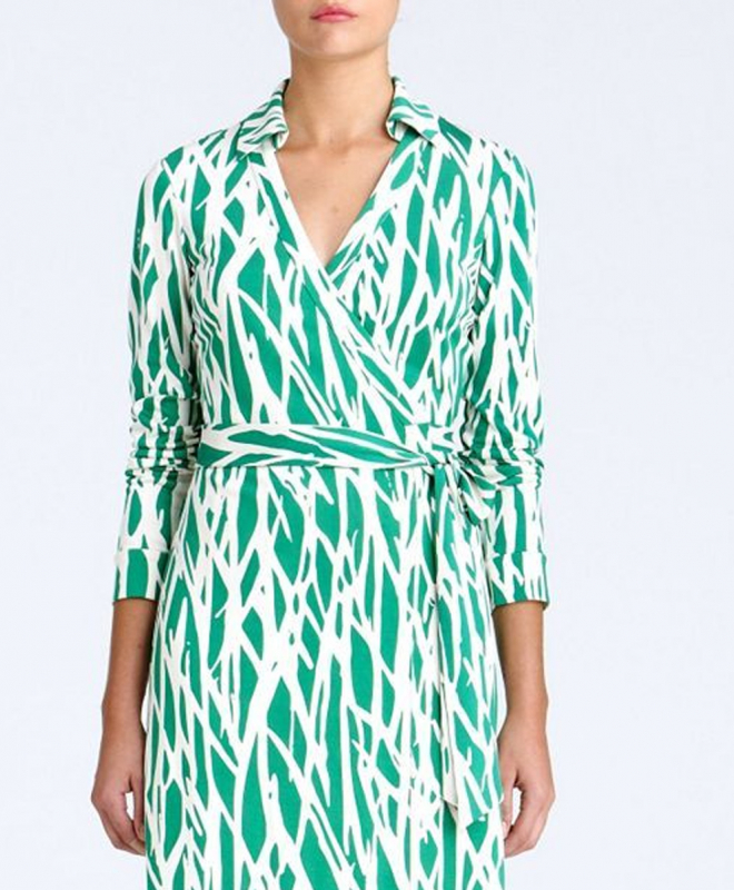 Location robe DVF Wrap 2