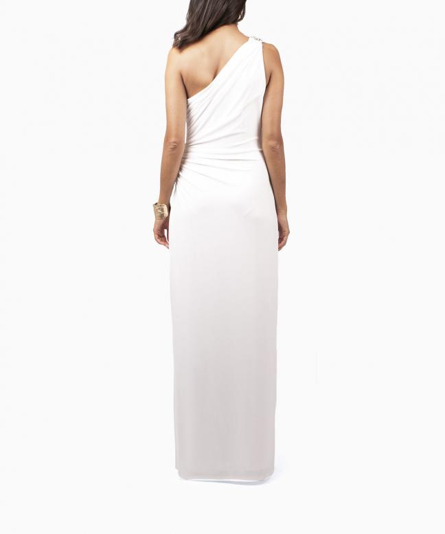 Location robe blanche RALPH LAUREN. 3