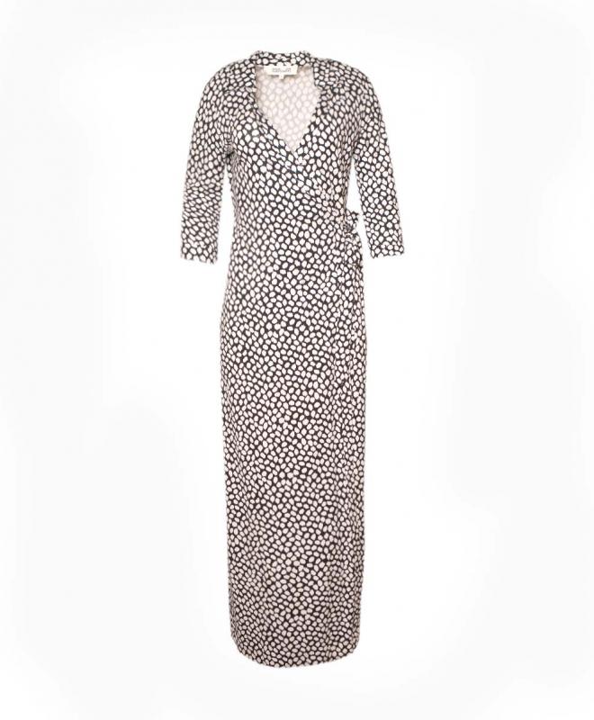 DIANE VON FURSTENBERG long dress rental Abigail. 1