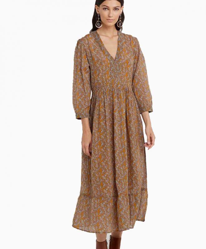 Location robe VANESSA BRUNO Magnolia 2