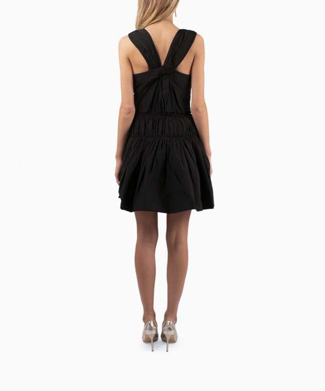 NINA RICCI short dress rental Origami. 3