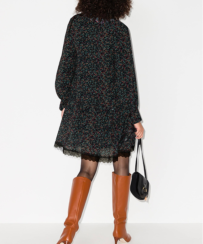 Location Robe SEE BY CHLOE Floral Print 3