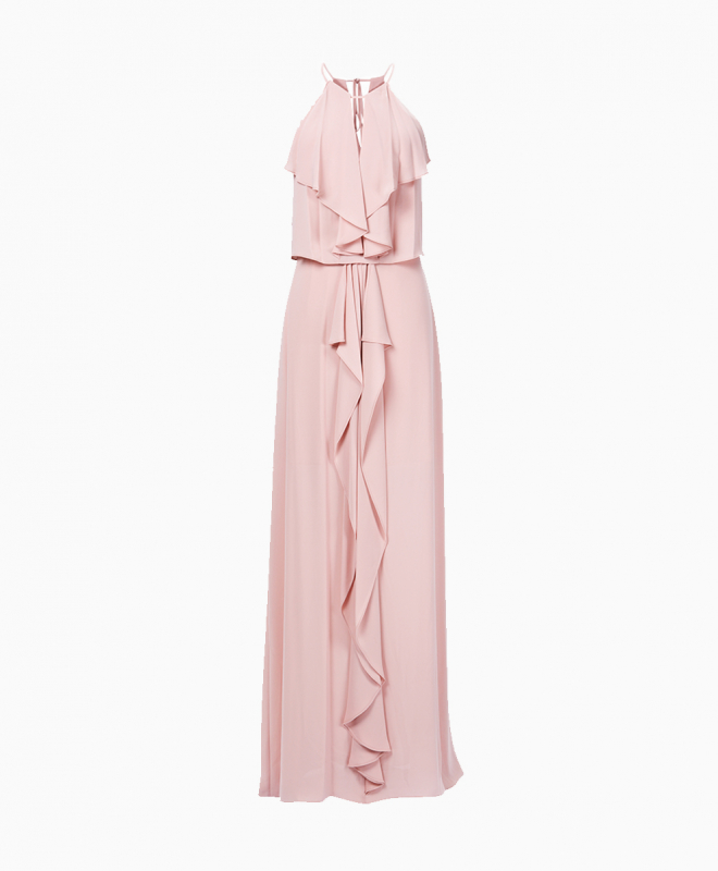Location robe BCBG Jansia Nude 1