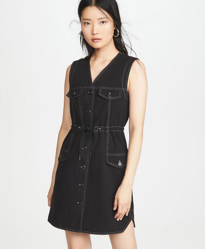 Robe Denim Noir 2