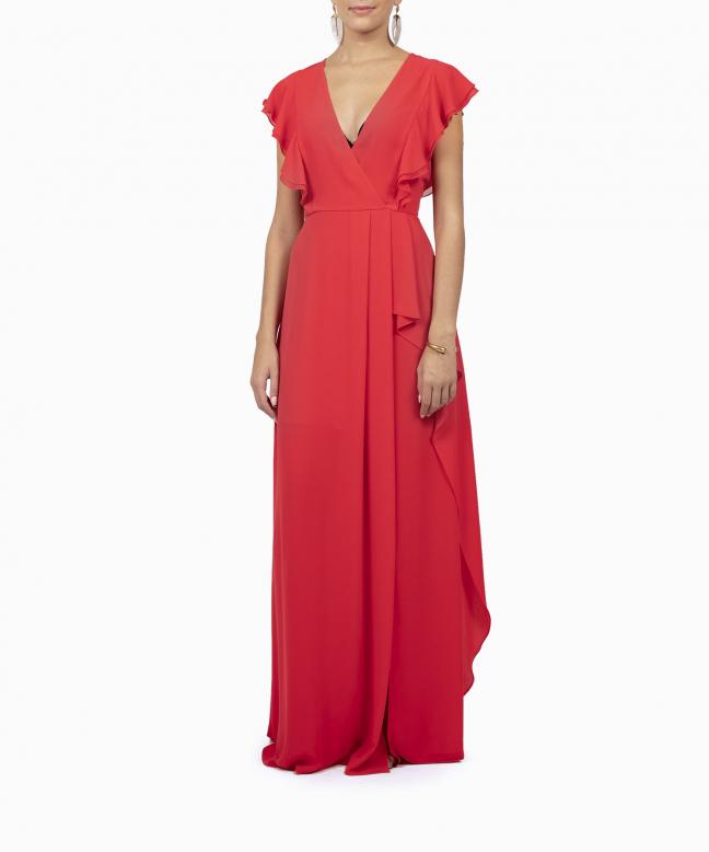 BCBG long dress rental Marbelle. 2