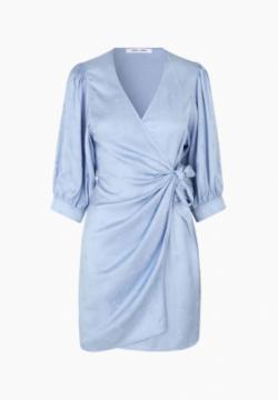 Robe Celestina Bleue