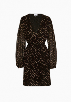 Robe Polka-Dot Georgette